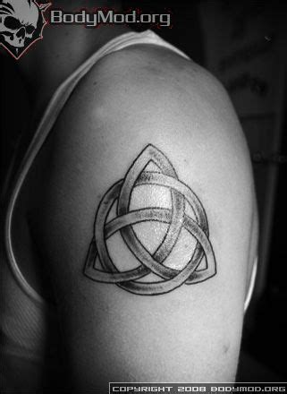 righteous ink tattoo wiccan tattoos triquetra knot