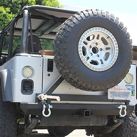 Jeep Wrangler Tire Carrier Jeep Wrangler Tj Rear Bumpers Tj Jeep Rear Bumper And