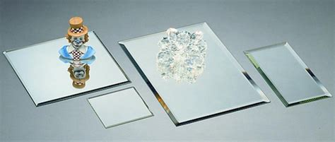 beveled mirror table runner mirror displays square 5mm mirror placemats and runners