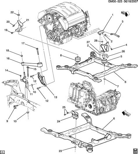 free service manuals online 2008 cadillac dts transmission control service manual 2007 cadillac dts engine to transmission mounting northstar v8 engine diagram