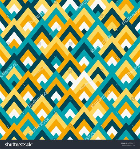 svg change pattern color seamless vector geometric rhombus color pattern stock