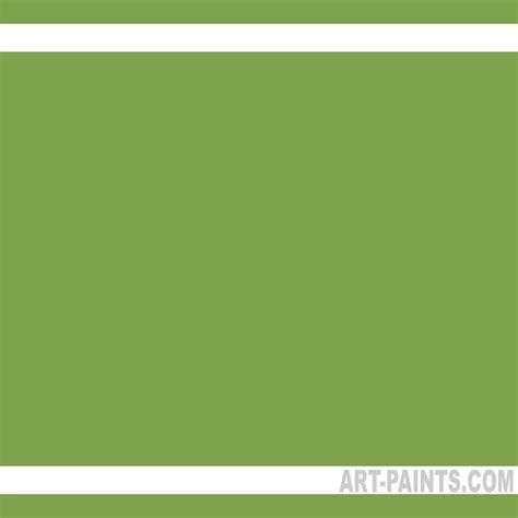 green paint swatches olive green pro color 24 set watercolor paints 132