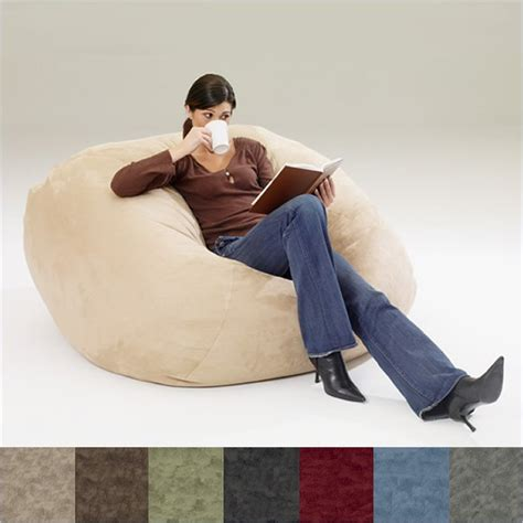Memory Foam Bean Bag Chair by 35 Quot Microfiber Memory Foam Fuf Chair Bean Bag Ebay