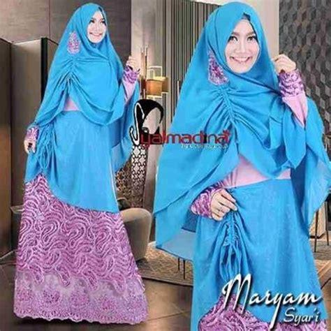 Gamis Basigageh By Syalmadina baju pesta muslim brokat maryam syar i syalmadina