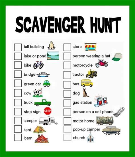backyard treasure hunt ideas 51 best scavenger hunt ideas for teens kids adults