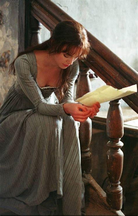 keira knightley as elizabeth bennet in pride and prejudice