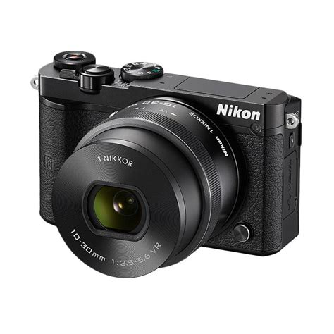 Kamera Nikon Mirrorless J5 jual nikon 1 j5 kit 10 30mm kamera mirrorless black 20 8 mp harga kualitas