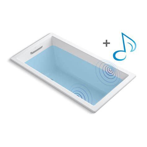 kohler underscore bathtub kohler underscore 5 ft acrylic rectangular drop in non
