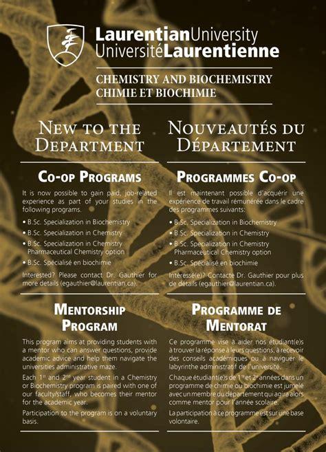 laurentian university department  chemistry biochemistry