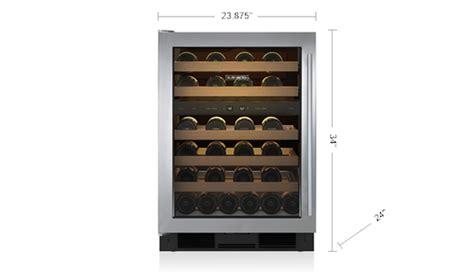 sub zero wine cooler 24 quot undercounter wine storage uw 24 s sub zero appliances