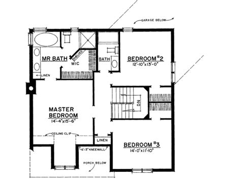 plan 43040pf unique floor plan hides garage bedrooms unique floor plan hides garage 43040pf architectural