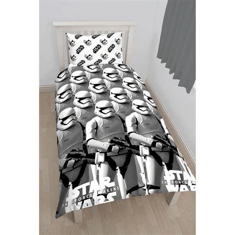 stormtrooper bedding b m star wars stromtrooper duvet set double duvet covers
