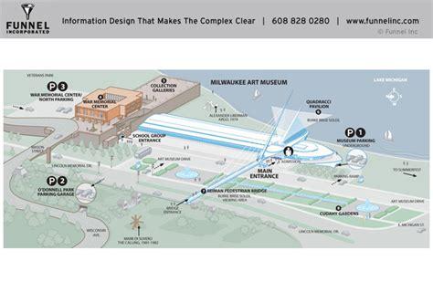 milwaukee museum floor plan funnel incorporated maps