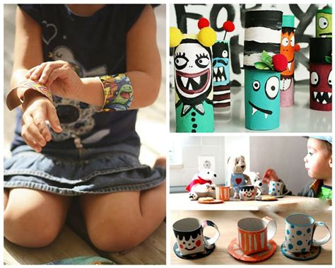 Crafts You Can Do With Toilet Paper Rolls - diy kid crafts diy projects craft ideas how to s