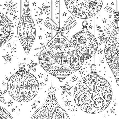 christmas patterns coloring pages claire mcelfatrick baubles christmas adult colouring