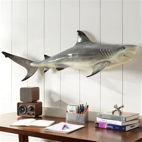 novelty shark decor