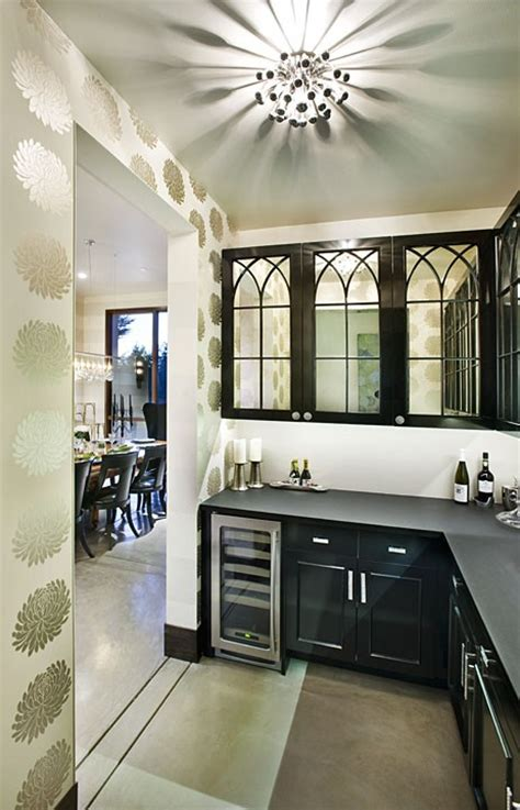 Mirrored Kitchen Cabinet Doors Contemporary Kitchen Mirrored Kitchen Cabinet Doors