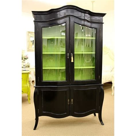 black china cabinet black green china cabinet there s no place like home