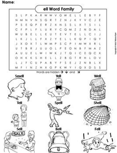 ell pattern words ell word family worksheets wiildcreative