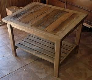 Diy Coffee And End Tables Some Useful Ideas On Making Reclaimed Diy Pallet End