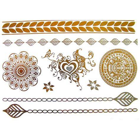 tattoo mandala ephemere tatouage bijou 233 ph 233 m 232 re m 233 tallique mandala et coeur