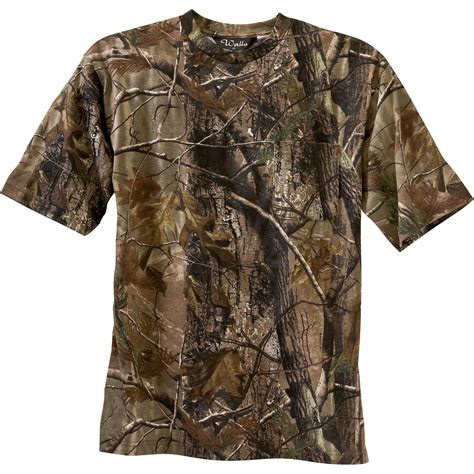 real tree camo clothing product walls realtree camo sleeve t shirt