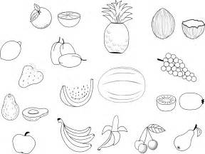 Galerry fruits coloring book