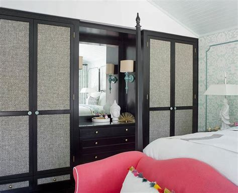 built in closet doors fabric paneled closet doors contemporary bedroom
