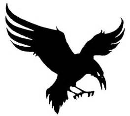raven flight silhouette logos pinterest staff directory raven and silhouette