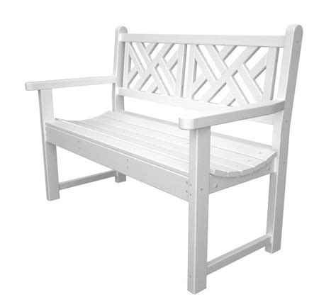 outdoor plastic bench 6 gorgeous recycled plastic garden furniture items to consider