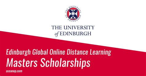 Mba Distance Learning Scholarships Students by Scholarship For Master Degree At Edinburgh
