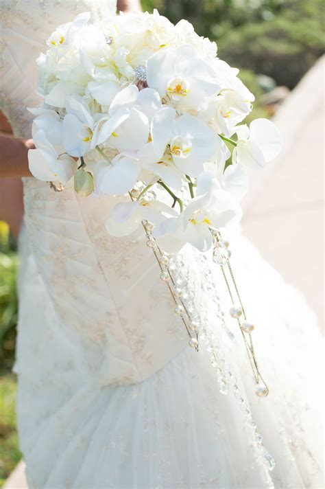 Bridal Bouquets Real Flowers by Wedding Flowers Gorgeous Cascading Bridal Bouquets