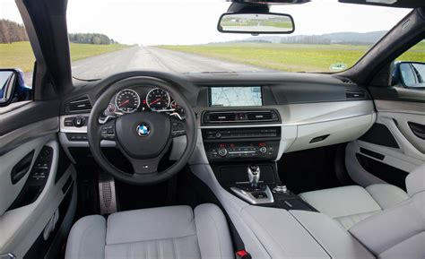 M5 Interior by Car And Driver