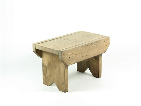 footstool bench reserved for cye gossett vintage wood footstool wooden bench