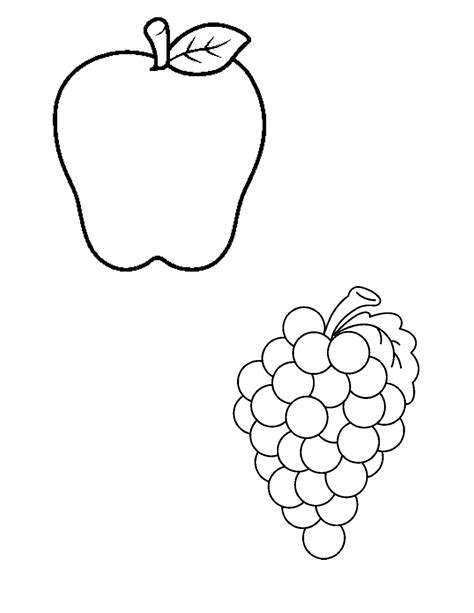 printable fruit and vegetable shapes best photos of fruit cutouts printable fruit cut out