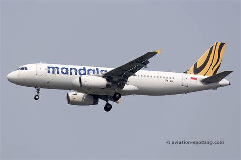 Mandala Tiger Air Diecast Miniatur Airbus A320 tigerair mandala aircraft fleet and livery photography archiveaviation spotting