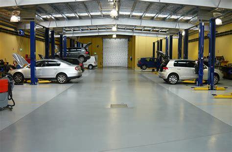slip resistant automotive workshop factory flooring