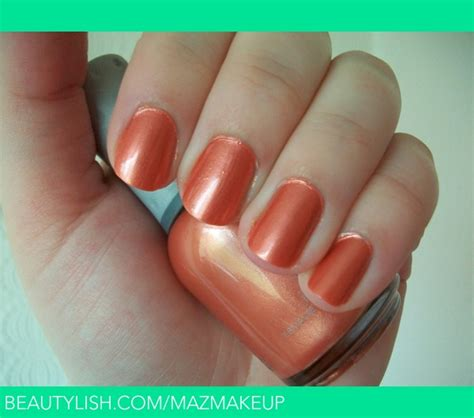Orly Peachy Parrot orly parrot nail a s mazmakeup photo beautylish