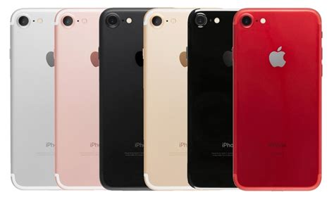 apple iphone 7 or 7 plus 32gb or 128gb smartphone gsm cdma unlocked groupon