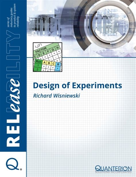Design Of Experiment Solution | design of experiments quanterion solutions incorporated