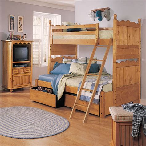 Crestwood Bunk Bed And Luxury Kid Furnishings Including Posh Bunk Beds
