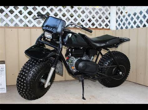 minibike honda atc 3 wheeler to 2 wheeler xilfy