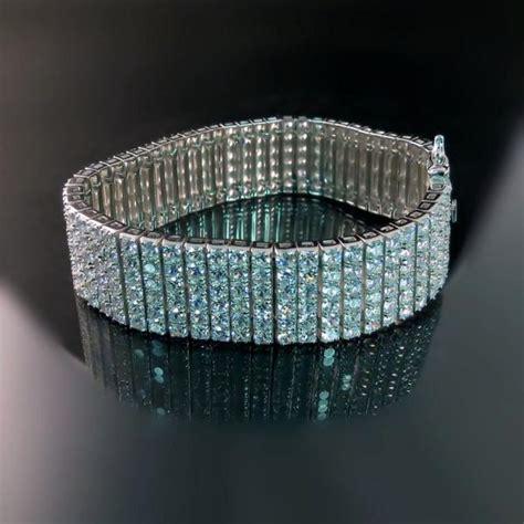 Imitation Diamond Statement Bracelet   Zoran Designs Jewelry