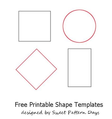 Templates For Shapes 16 best images about shapes on egg coloring