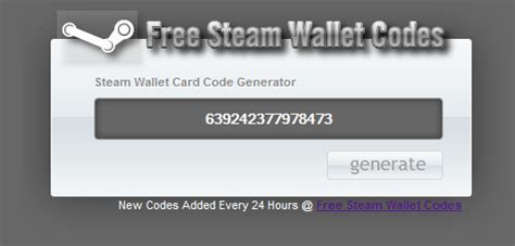Steam Gift Card Generator No Human Verification - steam wallet codes generator 2 7 download