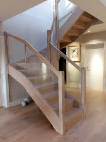 wooden stairs modern wooden staircase braishfield hshiretimber stair systems
