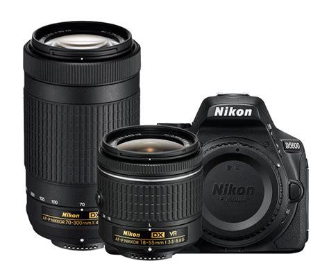 nikon d5600 two lens kit dslr cameras dodd