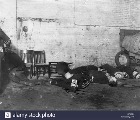corpses of the s day in chicago 1929