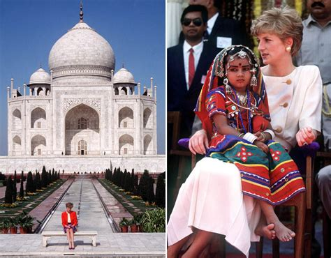 biography of princess diana in hindi princess diana s visit to india a look back at her iconic