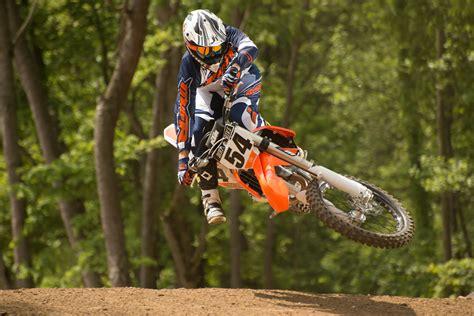 motocross bike weight dirt bike magazine first ride ktm xc f sx f for 2016